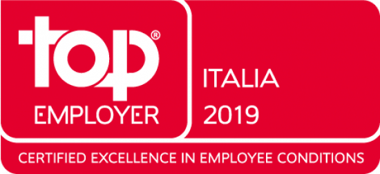 Kelly Services è tra le aziende certificate Top Employers 2019 in Italia